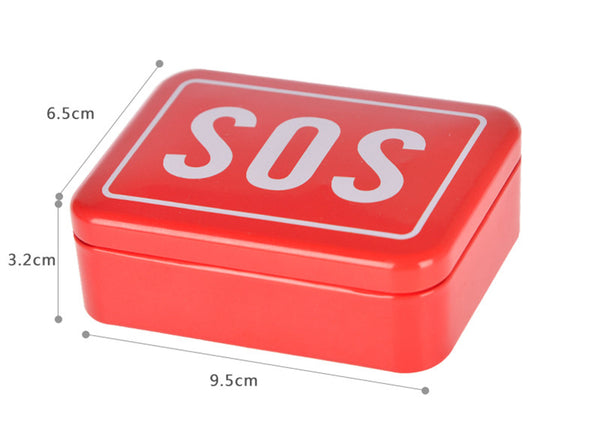 SOS 6 piece Emergency Supplies Kit for Car, earthquake etc--FREE SHIPPING