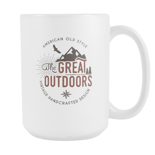 The Great Outdoors Camping Coffee Mug