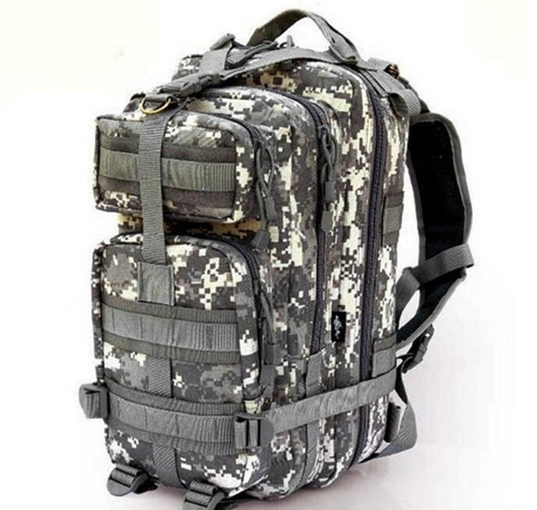 Elite Survivor Mission Critical Pro Tactical Survival Molle Backpack Bug Out Bag 20-35L expandable SHTF