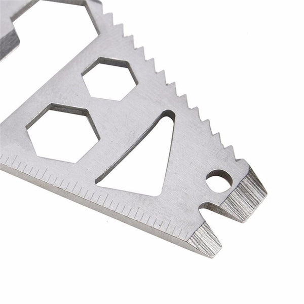 EDC Stainless Multitool Jack of All Trades- Free Shipping