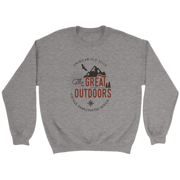 Great Outdoors  Crewneck Sweatshirt Mens (unisex)
