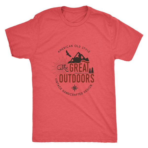 Great Outdoors Tri-Blend Mens T-shirt