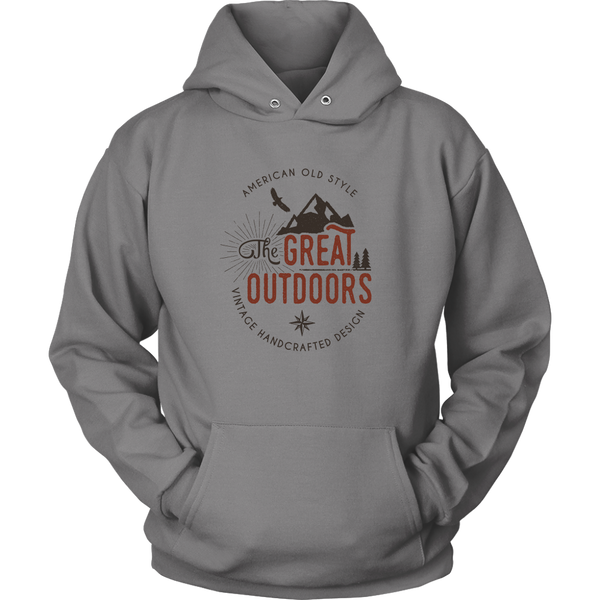Great Outdoors Hooded Sweatshirt Hoodie Mens