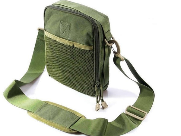 tactical shoulder bag molle everyday carry nylon military army