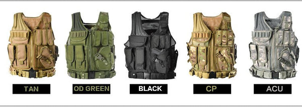 Mission Critical Law Enforcement Deluxe Tactical Molle Vest FREE Shipping US