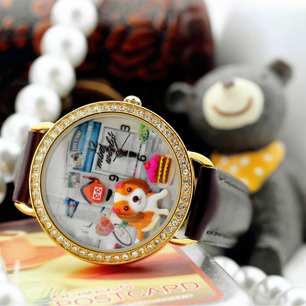 Reloj Mini World Cafe Original
