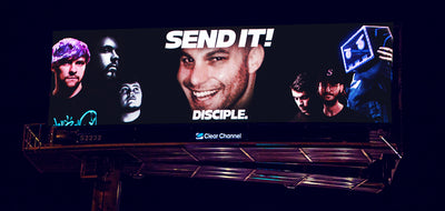 Disciple x EDC Billboards