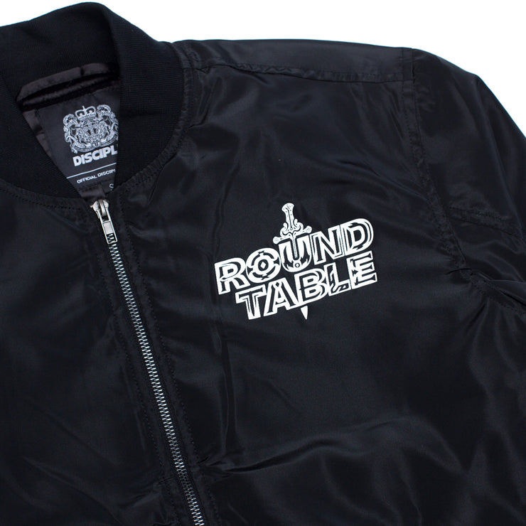 Round Table Bomber Jacket