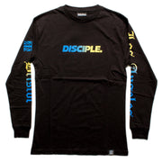 Black Ombré Long Sleeve