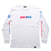 White Ombré Long Sleeve