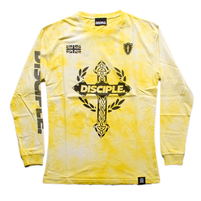 Yellow Tie Dye Long Sleeve