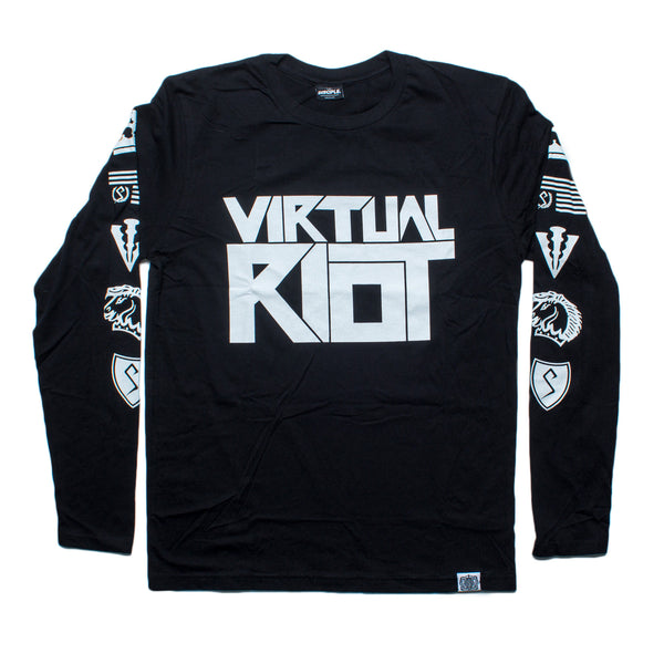 Virtual Riot Long Sleeve Tee