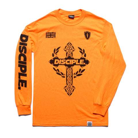 Disciple Long Sleeve - Orange