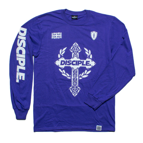 Disciple Long Sleeve - Purple