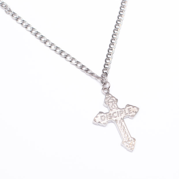 Crucifix Necklace (Steel)
