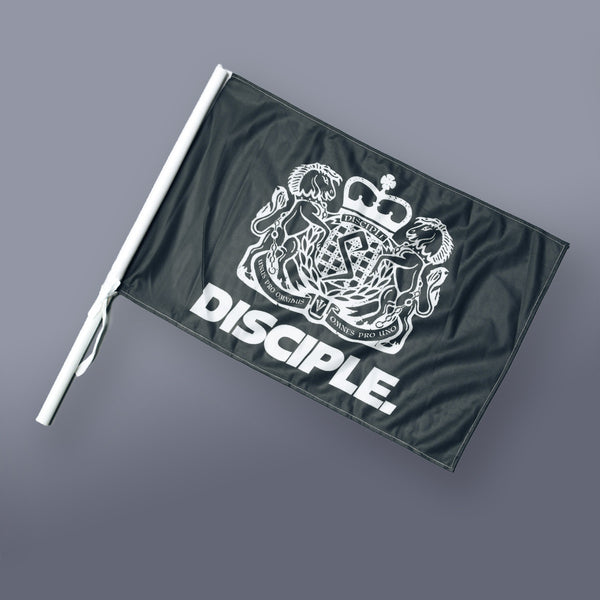 Disciple Coat of Arms Small Flag