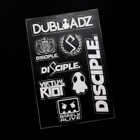 Disciple Family Sticker Pack