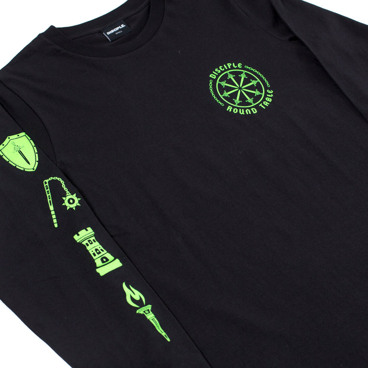 Round Table Longsleeve (Neon Green)