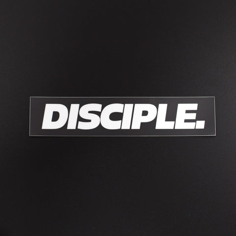 Disciple Box Logo Sticker