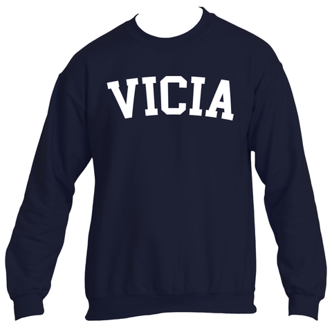 "VICIA ""JR. COLLEGE"" CREWNECK"