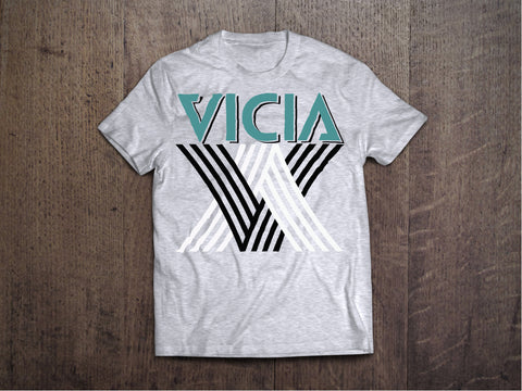 "Heather Grey VICIA ""OG"" Tee"