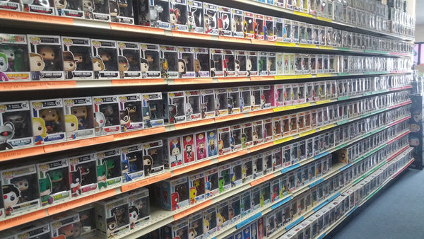 Over 1000 different Funko Pops to choose from!