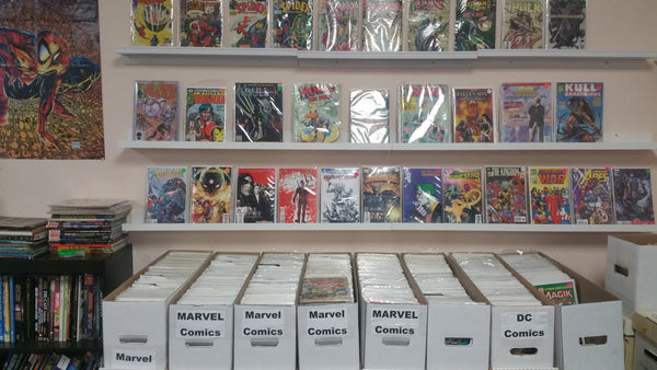 Modern and Vintage Comic Book and Graphic Novels