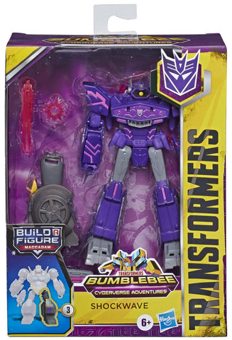Transformers Bumblebee Cyberverse Adventures Deluxe Class SHOCKWAVE