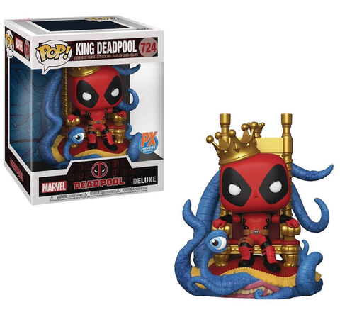 Pop! Marvel KING DEADPOOL (Previews Exclusive)(Available for Pre-Order)
