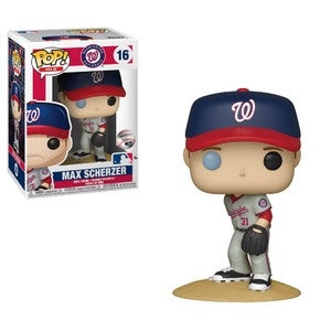 Funko Pop! MLB #16 MAX SCHERZER Away Jersey (Nationals) - Brads Toys