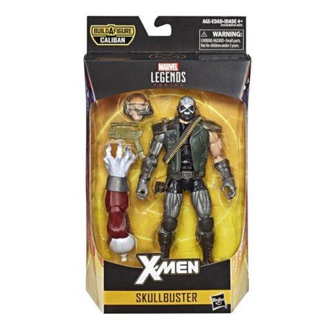 Marvel Legends SKULLBUSTER Caliban Series