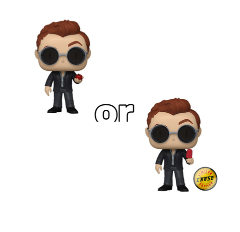 Pop! TV CROWLEY w/APPLE Chase (Good Omens)(Available for Pre-Order)