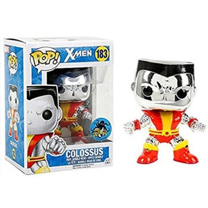 Funko Pop! Marvel #183 COLOSSUS Chrome (X-Men) Comikaze Exclusive - Brads Toys