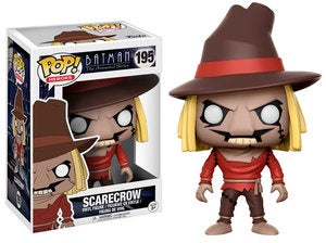 Funko Pop! Heroes #195 SCARECROW (Batman The Animated Series) - Brads Toys