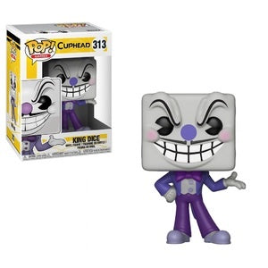 Funko Pop! Games #313 KING DICE (Cuphead) - Brads Toys