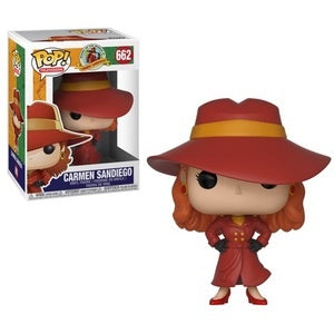 Funko Pop! Television #662 CARMEN SANDIEGO (Where in the World is Carmen Sandiego) - Brads Toys