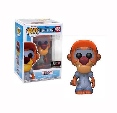 Funko Pop! Disney #466 WILDCAT (Talespin) Gamestop Exclusive