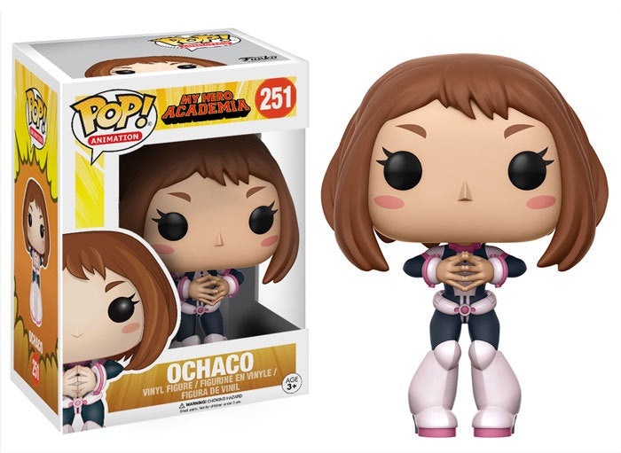 Funko Pop! Animation #251 OCHACO (My Hero Academia) - Brads Toys