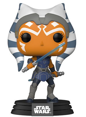 Pop! Star Wars ASHOKA (Clone Wars)(Available for Pre-Order)