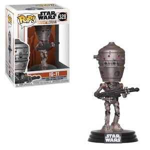 Funko POP! Star Wars #328 IG-11 (The Mandalorian) - Brads Toys