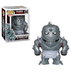 Funko Pop! Animation #392 ALPHONSE ELRIC (Full Metal Alchemist) - Brads Toys