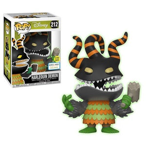 Funko Pop! Disney #212 HARLEQUIN DEMON Glow-in-the-Dark (The Nightmare Before Christmas) Barnes & Noble Exclusive - Brads Toys