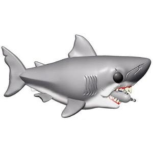 Funko Pop! Movies #759 GREAT WHITE SHARK WITH TANK (Jaws) - Brads Toys