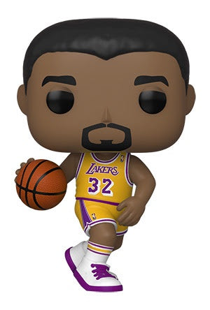 Pop! NBA Legends MAGIC JOHNSON (Lakers Home)(Available for Pre-Order) - Brads Toys