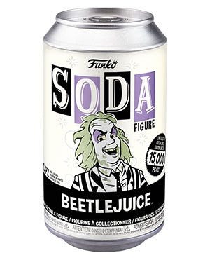 Vinyl Soda BEETLEJUICE w/Glow Chase (Beetlejuice)(Available for Pre-Order)