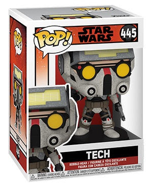 Pop! Star Wars #445 TECH (Bad Batch)(Available for Pre-Order)