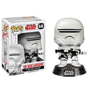 Funko Pop! Star Wars #68 FIRST ORDER FLAMETROOPER (The Last Jedi)
