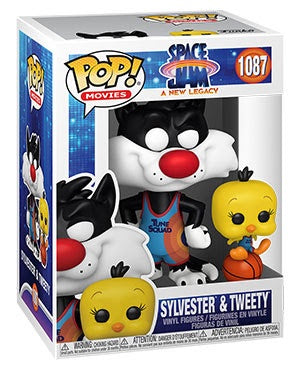 Pop! Movies SYLVESTER & TWEETY (Space Jam)(Available for Pre-Order)