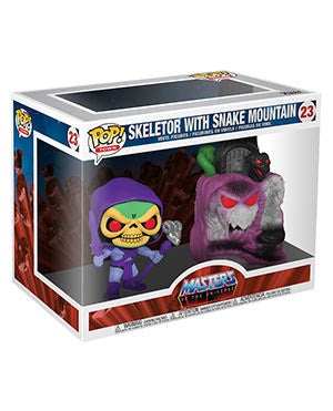 Pop! Town SKELETOR w/SNAKE MOUNTAIN (Masters of the Universe)(Available for Pre-Order)