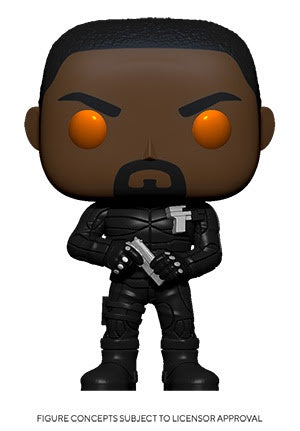 Funko Pop! Movies BRIXTON w/ORANGE EYES (Hobbs & Shaw)(Available for Pre-Order) - Brads Toys